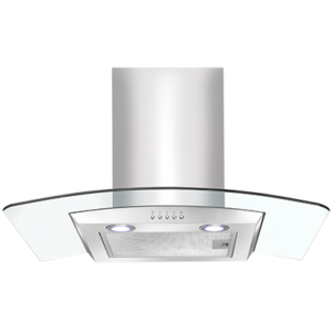 <span>ACG700X</span>Curved Glass Canopy Rangehood