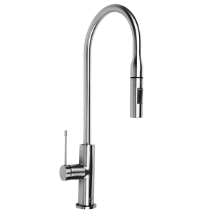 <span>ASM201X</span>Gooseneck Mixer Tap With Pull Out Hose