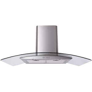<span>ACG900X</span>Curved Glass Canopy Rangehood